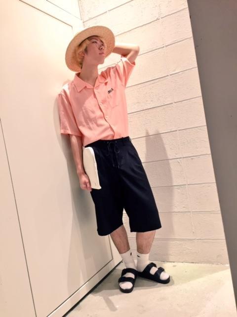 レイクタウン店☆テンセルシャツタックインサマーコーデ☆