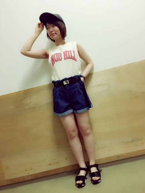 ベルト付きショーツ~前田