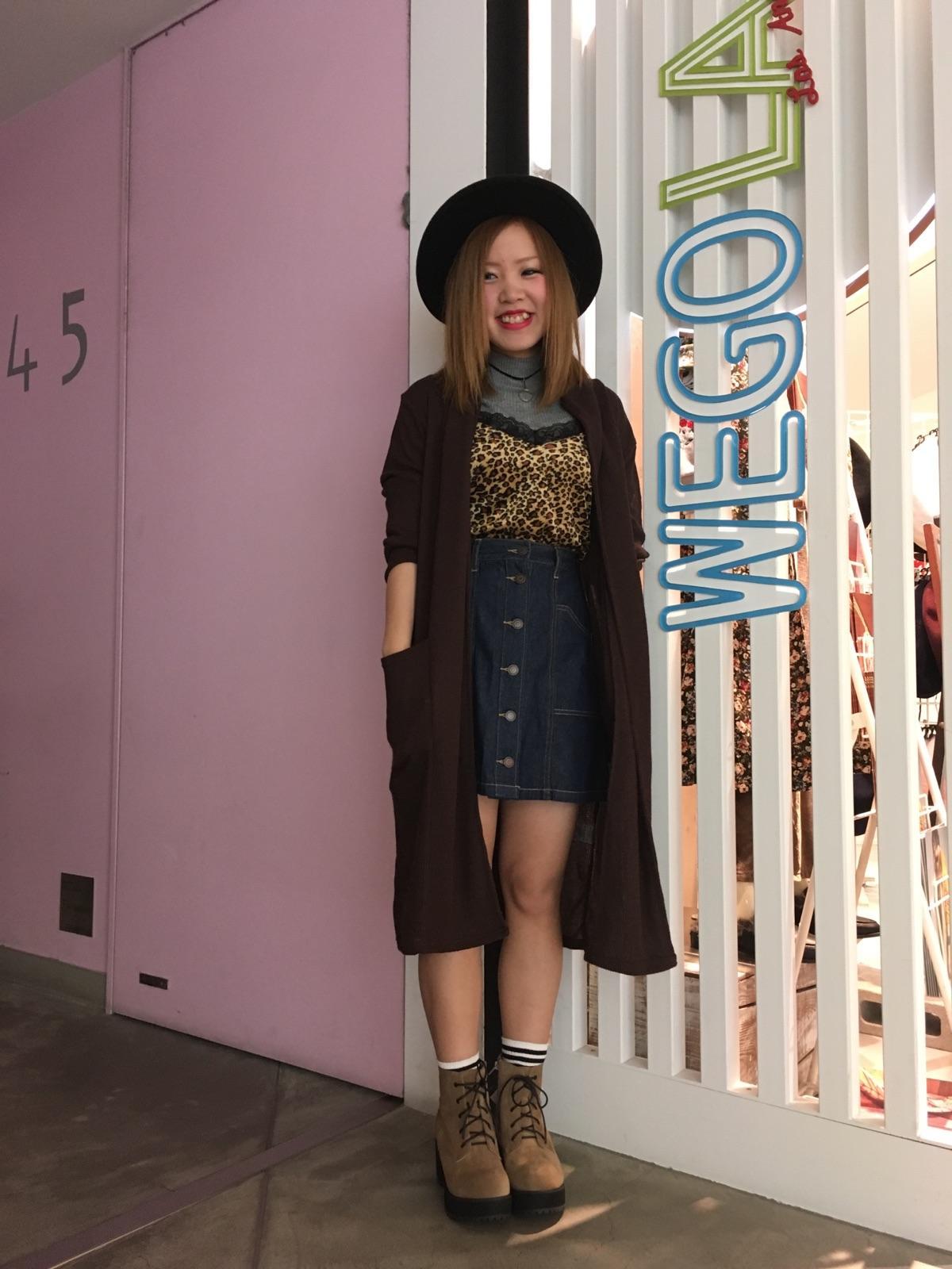 WEGO LA 札幌ステラプレイス店  多田恵莉紗